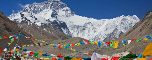 Everest Qomolangma Rongbuk